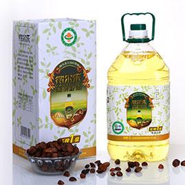 油茶籽油低温压榨一级 5L有机礼盒