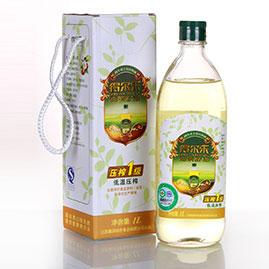 油茶籽油低温压榨一级 1L有机礼盒