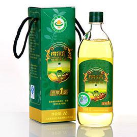 油茶籽油压榨一级 1L有机礼盒