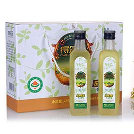 油茶籽油低温压榨一级 325mlx4有机礼盒