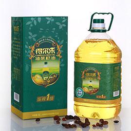 油茶籽油压榨一级 5L有机礼盒